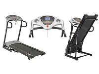 York Aspire 16kmh, motor incline foldable treadmill
