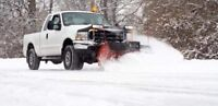 Snow plowing and ice control