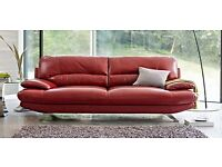 Harveys Leather Two 3 Seater Sofas for Sale for Spares or Repairs ( Quick Sale)