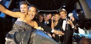 Brampton Mississauga limo limousine night out ☎️416-407-7355