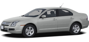 2009 Ford Fusion beige.