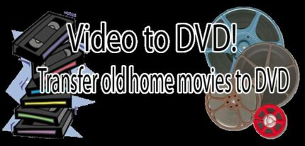 Old Video Tapes (VHS or Camcorder) to DVD