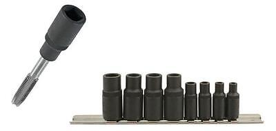 Laser 6058 Tap Socket Set Holder Magnetic Square Sockets Ideal For Tight Spaces