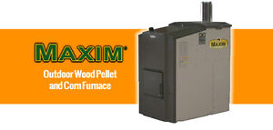 Outdoor Wood Pellet and corn Furnance