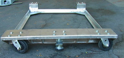 Aluminum Mobile Rolling Machine Base Brake 48 X 37