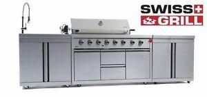 Brand New Swiss Grill Zurich Z 650D Gas Outdoor BBQ Kitchen Woolloongabba Brisbane South West Preview