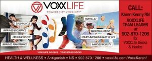 VOXXLIFE Health and Wellness Socks and Insoles