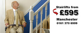 Stair Lift Supplier Manchester Local Showroom Free home survey