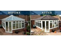 💜 Conservatory light weight roof systems® 💜