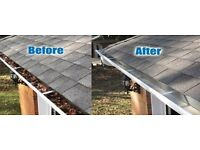 Gutter Cleaner, Cleaning Gutters in Esher, Cobham, Weybridge, Oxshott, Hersham, Walton-on-Thames