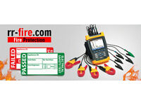 Fire Alarms, Fire Extinguishers, Emergency Lighting, P.A.T Testing, Risk Assesments