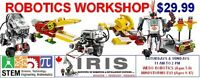 ROBOTICS Workshop (Ages 5-17)