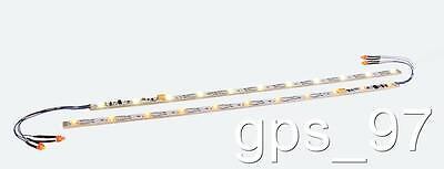 HO / N  ESU 50708 Digital Decoder LED Light Strip Warm White w/ Taillights - New