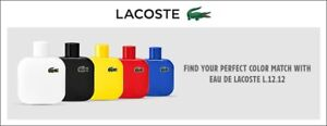 LACOSTE blanc cologne *BRAND NEW IN BOX*