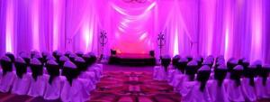 Offering Wall to Wall Draping from Babylon Decor in Toronto