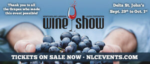 WANTED ONE OR TWO WINE SHOW TICKETS