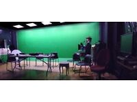 Studio / Photography / Film location / Green Screen £50 per day