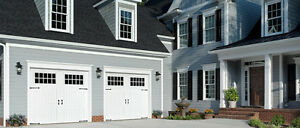 Insulated and non-insulated Garage Doors for sale