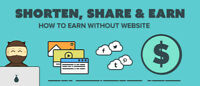 Earn money at home ! USING SHORT LINKS