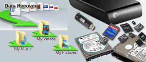 Data Recovery from Hard Drives, Memory Cards, USB Drives Cornwall Ontario image 2