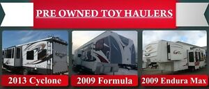 USED 5th WHEEL TOY HAULERS