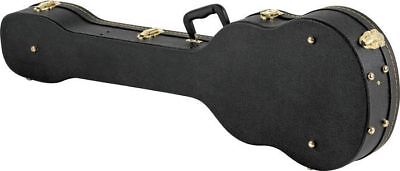 New Hard Shell Electric Violin Shaped Bass Guitar Case Beatle Bass Black