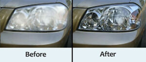Headlights restoration service available at your place