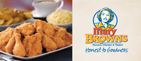 Mary Browns Famous Chicken is HIRING!!