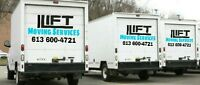 2Movers+$50per hour Flat Rates Only  $175
