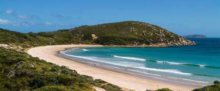 Looking for cabin  on Wilson Promontory from 30.03.- 02.04. for 2
