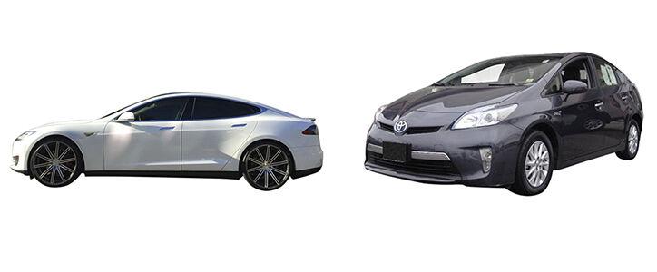Electric vs. Hybrid Cars Comparison