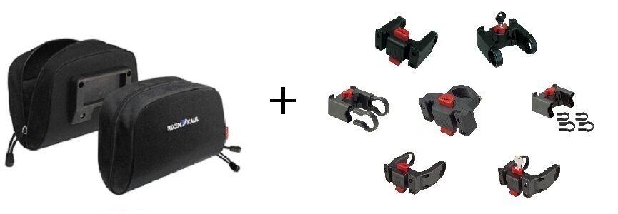 KLICKFix Rixen&Kaul Lenkertasche Baggy Mini 8 Varianten