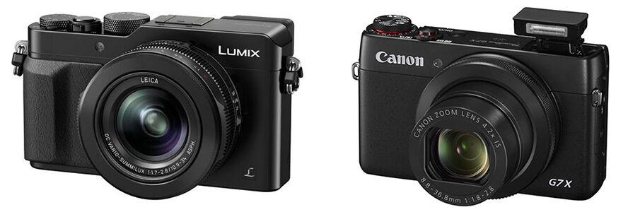 Lumix vs. Canon