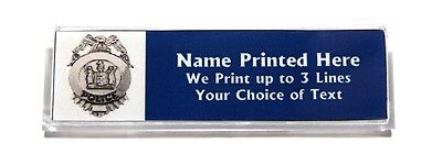Police Badge Custom Name Tag Badge Id Pin Magnet For Cop Officer Law Enforement
