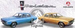 "Holden HQ CARS & PARTS Monaro GTS Kingswood Coupe HK HG HJ LS.."" Kidman Park Charles Sturt Area Preview"