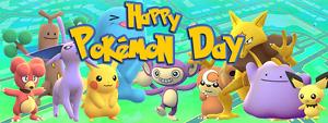 Happy Pokémon Day! Pokémon Deal Week.