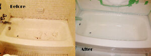 Bathtub Reglazing, Refinishing, Resurfacing, Repair