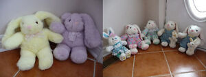 Brand New Plush Easter Bunnies - 4 Styles Available
