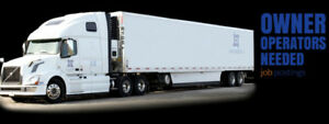 DRIVERS OWNER OPERATORS REQUIRED FOR DEDICATED LOADS