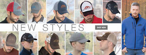 Add your logo to our Hats, Visors and more!