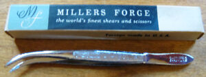 Vintage Millers Forge Tweezers with Original Box F/S