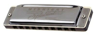 Fender® Midnight Special Diatonic 10 Hole Harmonica made by Seydel in Key of C