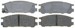 ACDelco 14D471C Rear Ceramic Brake Pads