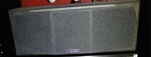 External audio video speakers set