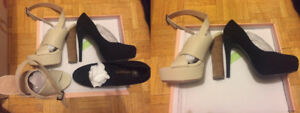 High Heeled Shoe & Sandal (2 Pairs)