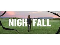 Bridge Theatre x4 tickets Second Row for Nightfall with Claire Skinner and Ophelia Lovibond