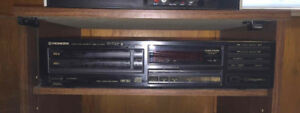 Vintage PIONEER Twin-Tray Compact Disc Player PD-T307, w Manual