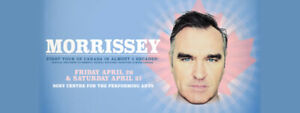2 MORRISSEY TICKETS - **SOLD OUT SHOW**