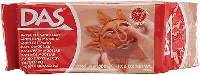 Das Air Dry Clay 17.6 Ounces-Terra Cotta 8000144043002