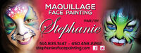 Maquillage par Stephanie's Face Painting